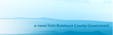 e-news from Botetourt County Government
